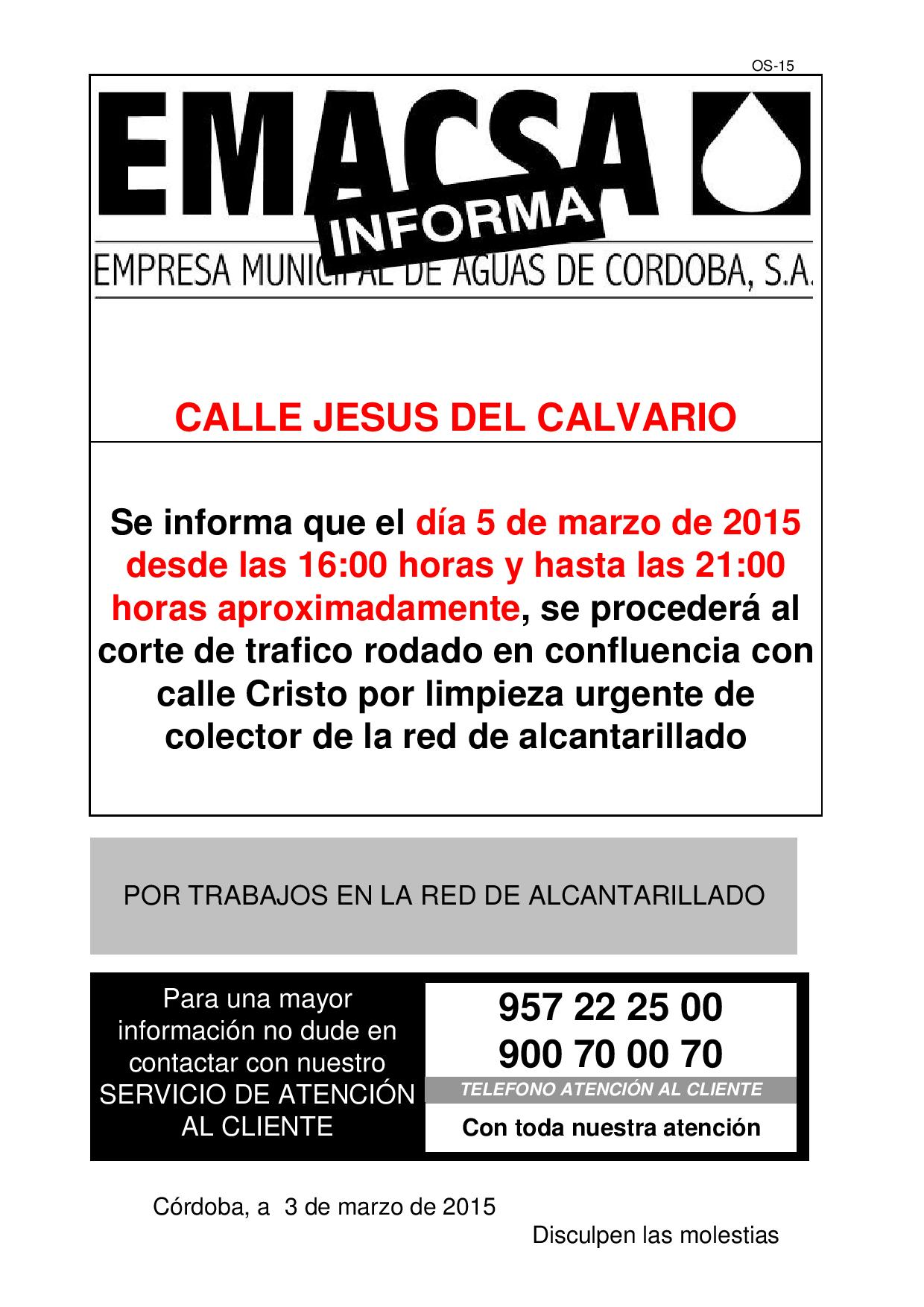 JESUS DEL CALVARIO