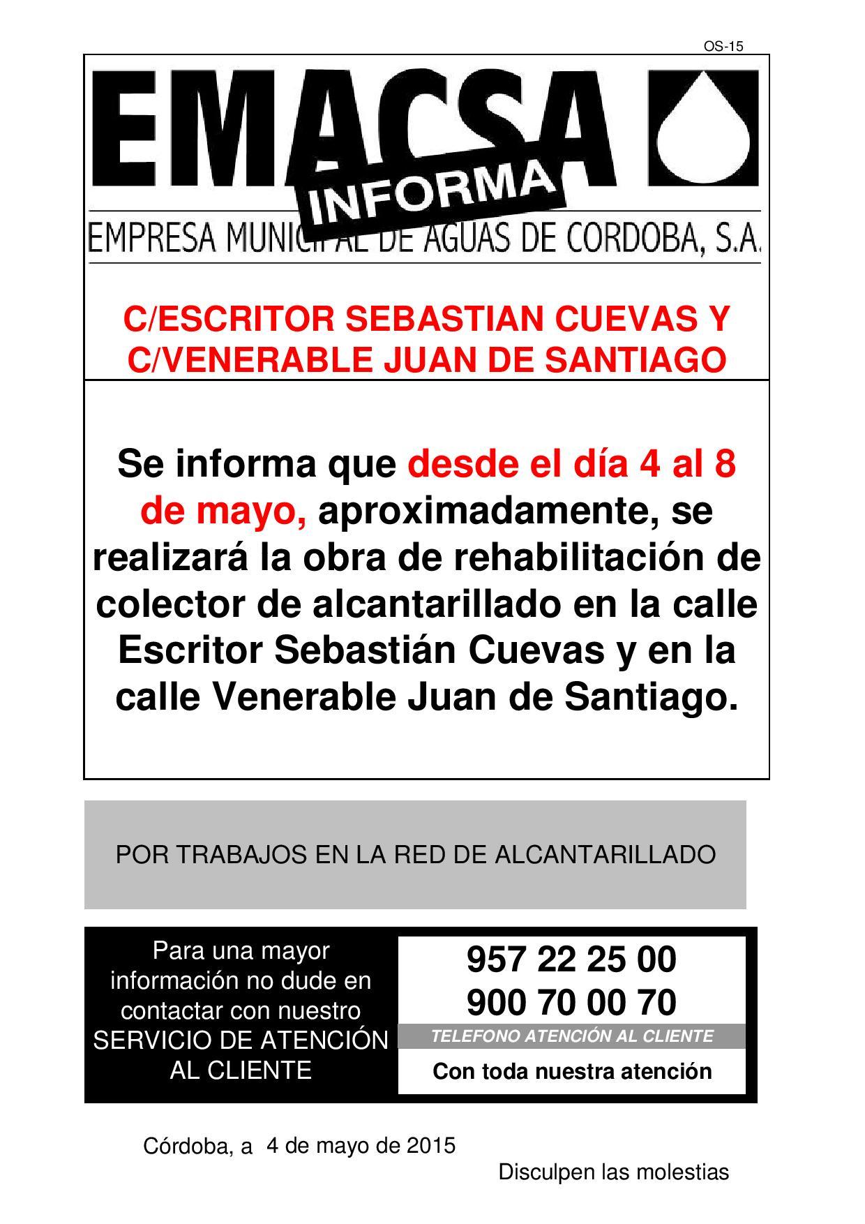 ESCRITOR SEBASTIAN CUEVAS Y VENERABLE JUAN DE SANTIAGO
