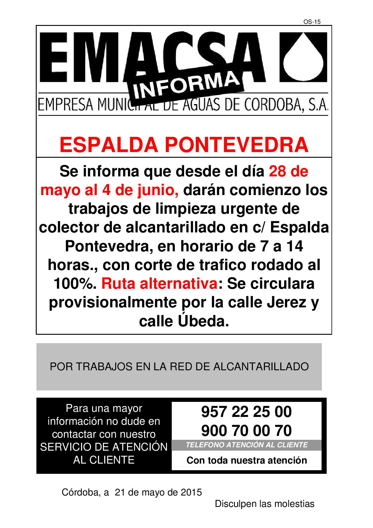 ESPALDA PONTEVEDRA