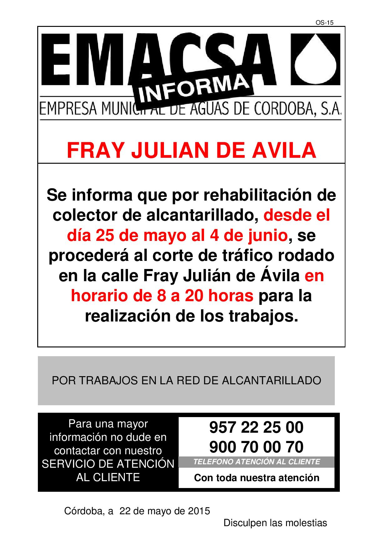 FRAY JULIAN DE AVILA