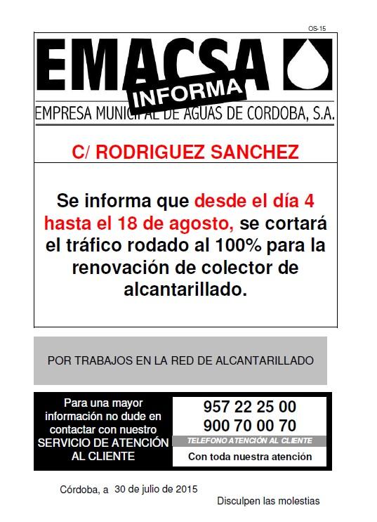 RODRIGUEZ SANCHEZ (4-18 AGO - AL)