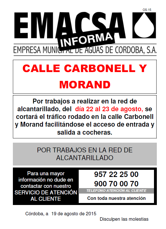 CARBONELL Y MORAND