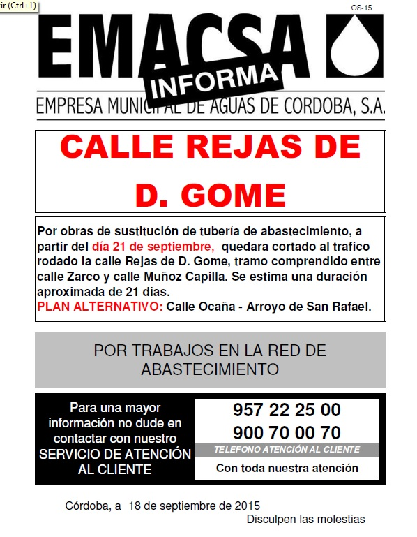 Calle Rejas de D. Gome