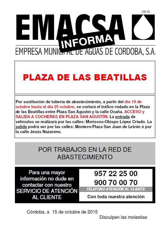 Plaza de las Beatillas