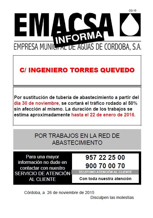 INGENIERO TORRES QUEVEDO