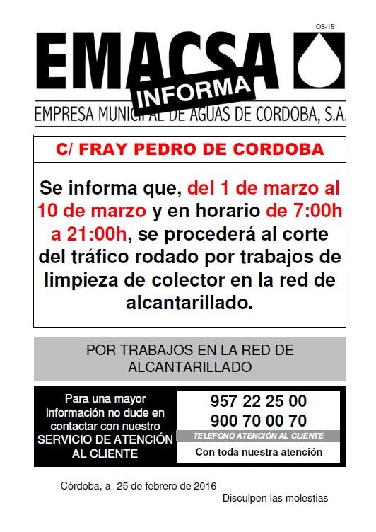 FRAY PEDRO DE CORDOBA