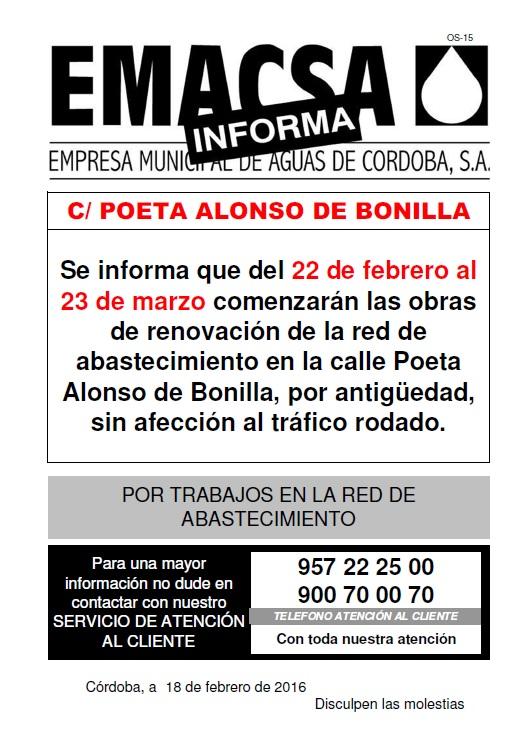 POETA ALONSO DE BONILLA