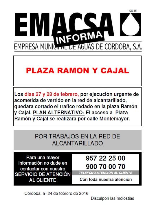 Plaza Ramon y Cajal