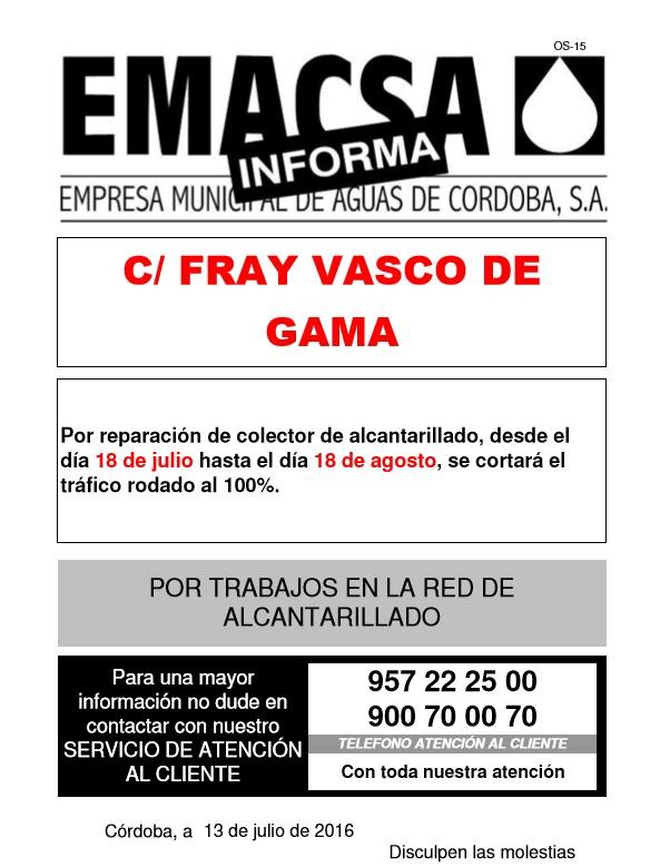 Fray Vasco de GamaIII