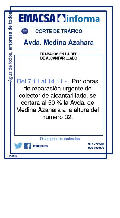 AVDA. MEDINA AZAHARA II