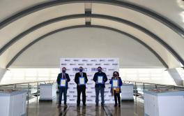 Emacsa, primera empresa pública de gestión del ciclo integral del agua de España en obtener el certificado de Seguridad Vial de AENOR