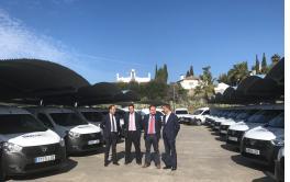 EMACSA incorpora 24 vehículos con los que renovará su flota siguiendo criterios de sostenibilidad medioambiental