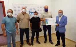 La plantilla de Emacsa vuelve a mostrar su solidaridad con el Banco de Alimentos y dona 4.000 € en un año marcado por la crisis sanitaria