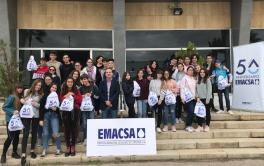 Emacsa retoma las visitas guiadas a sus instalaciones para escolares de Educación Secundaria