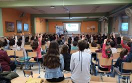 Durante 2020, más de 1.000 escolares cordobeses han participado en los talleres de sensibilización '1 Gota x 1 Vida'
