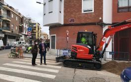 EMACSA renueva la red de abastecimiento en la calle Colombia y adyacentes