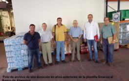 La plantilla de EMACSA dona al Banco de Alimentos 5.500 € en una recaudación extraordinaria con motivo de la crisis sanitaria