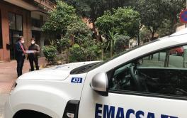 Finalizan las obras de Emacsa en el entorno de Ciudad Jardín