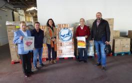 La plantilla de EMACSA realiza una donación por valor de 3.700 € al Banco de Alimentos de Córdoba